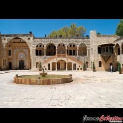 LIBAN - Billet de 100 Livres - Palais de Beiteddine - 1988