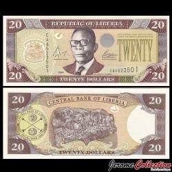 LIBERIA - Billet de 20 DOLLARS - 2004 P28b