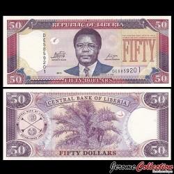 LIBERIA - Billet de 50 DOLLARS - 2011 P29f