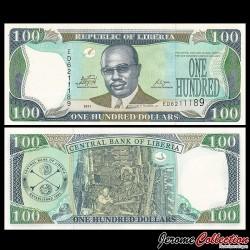 LIBERIA - Billet de 100 DOLLARS - 2011 P30f