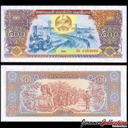 LAOS - Billet de 500 Kip - 1988