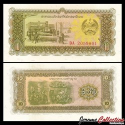 LAOS - Billet de 10 Kip - 1979