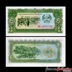 LAOS - Billet de 5 Kip - 1979