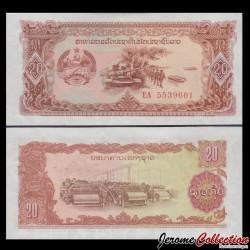 LAOS - Billet de 20 Kip - 1979