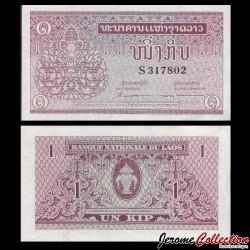 LAOS - Billet de 1 Kip - 1962