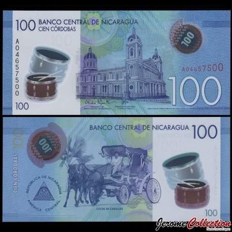 NICARAGUA - Billet de 100 Córdobas - Polymer - 26.03.2014 P212a