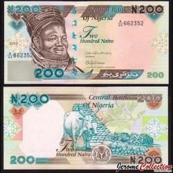 NIGERIA - Billet de 200 Naira - 2015