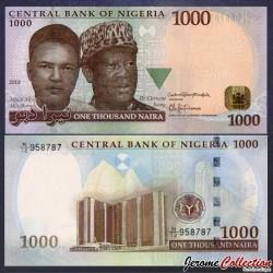NIGERIA - Billet de 1000 Naira - 2015