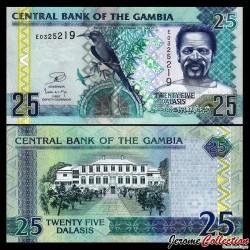 GAMBIE - Billet de 25 Dalasis - 2006 / 2013