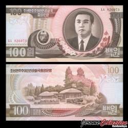 COREE DU NORD - Billet de 100 Won - 1992