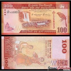 SRI LANKA - Billet de 100 Roupies - 2015 P125c
