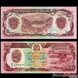 AFGHANISTAN - Billet de 100 Afghanis - 1979