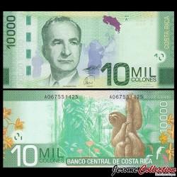 COSTA RICA - Billet de 10000 Colones - 2009