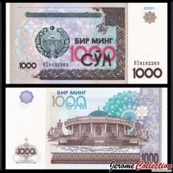 OUZBEKISTAN - Billet de 1000 Som - 2001