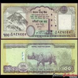 NEPAL - Billet de 100 Roupies - 2012 P73a