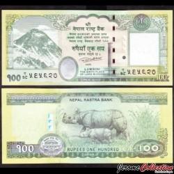 NEPAL - Billet de 100 Roupies - 2016