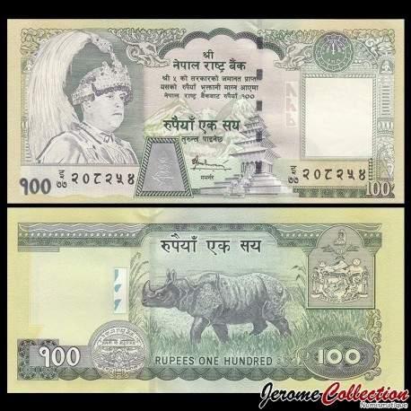 NEPAL - Billet de 100 Roupies - 2005 P57a