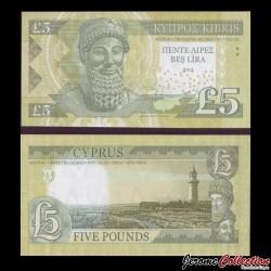 CHYPRE - Billet de 5 Livre - 2013