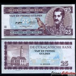 CURAÇAO - Billet de 25 Gulden - 2016