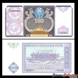 OUZBEKISTAN - Billet de 100 Som - 1994