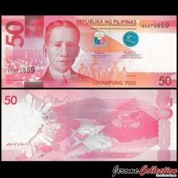 PHILIPPINES - Billet de 50 Piso - 2017
