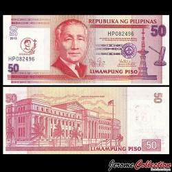 PHILIPPINES - Billet de 50 Piso - Canonisation de Saint Pierre Calungsod - 2013