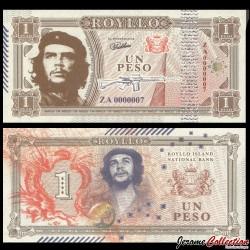 ROYLLO ISLAND - Billet de 1 Peso - Che Guevara - 2018