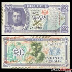 ROYLLO ISLAND - Billet de 20 Pesos - Napoléon Bonaparte - 2018
