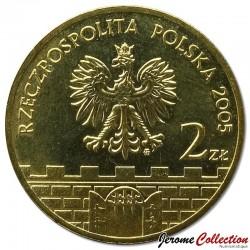 POLOGNE - PIECE de 2 ZLOTE - Villes de Pologne : Cieszyn - 2005