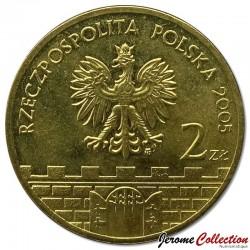 POLOGNE - PIECE de 2 ZLOTE - Villes de Pologne : Wloclawek - 2005
