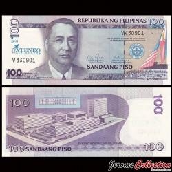PHILIPPINES - Billet de 100 Piso - 75 ans de la faculté de droit d'Ateneo 1936 / 2011