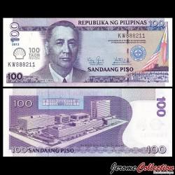 PHILIPPINES - Billet de 100 Piso - 100 ans Shell Oil aux Philippines - 2013