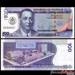 PHILIPPINES - Billet de 100 Piso - 100 ans Grande Loge des Maçons Libres et Acceptés, 1912-2012 P213A