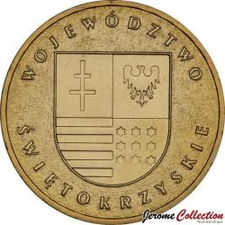POLOGNE - PIECE de 2 ZLOTE - Voïvodie de Swietokrzyskie - 2005