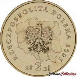 POLOGNE - PIECE de 2 ZLOTE - Voïvodie de Warminsko-Mazurskie - 2005