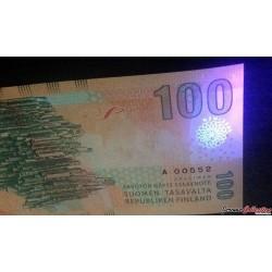 FINLANDE - Billet de 100 Mark / Markaa - Jean Sibelius - 2017