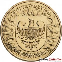 POLOGNE - PIECE de 2 ZLOTE - Voïvodie de Mazovie - 2004