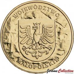 POLOGNE - PIECE de 2 ZLOTE - Voïvodie de Petite-Pologne - 2004 Y#488