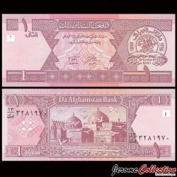 AFGHANISTAN - Billet de 1 Afghani - Mosquée Bleue - 2002 P64a
