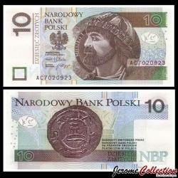 POLOGNE - Billet de 10 Złotych - Mieszko Ier de Pologne - 05.01.2012