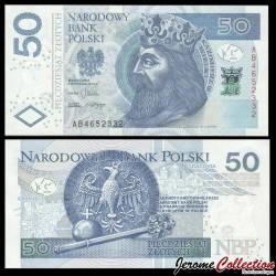 POLOGNE - Billet de 50 Złotych - Casimir III de Pologne - 05.01.2012