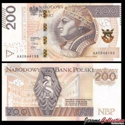 POLOGNE - Billet de 200 Złotych - Sigismond Ier de Pologne - 03.03.2015