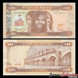ÉRYTHRÉE - Billet de 10 Nakfa - Train de marchandises - 24.05.2012