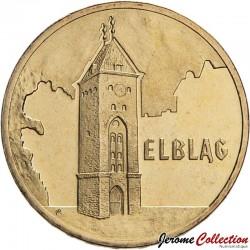 POLOGNE - PIECE de 2 ZLOTE - Villes de Pologne: Elblag - 2006