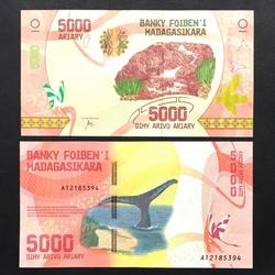 MADAGASCAR - Billet de 5000 ARIARY - 2017