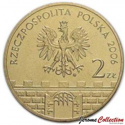 POLOGNE - PIECE de 2 ZLOTE - Villes de Pologne : Chełm - 2006