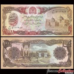 AFGHANISTAN - Billet de 1000 Afghanis - 1991 P61c