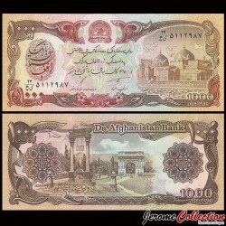 AFGHANISTAN - Billet de 1000 Afghanis - 1991