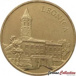 POLOGNE - PIECE de 2 ZLOTE - Villes de Pologne: Legnica - 2006