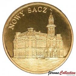 POLOGNE - PIECE de 2 ZLOTE - Villes de Pologne: Nowy Sacz - 2006